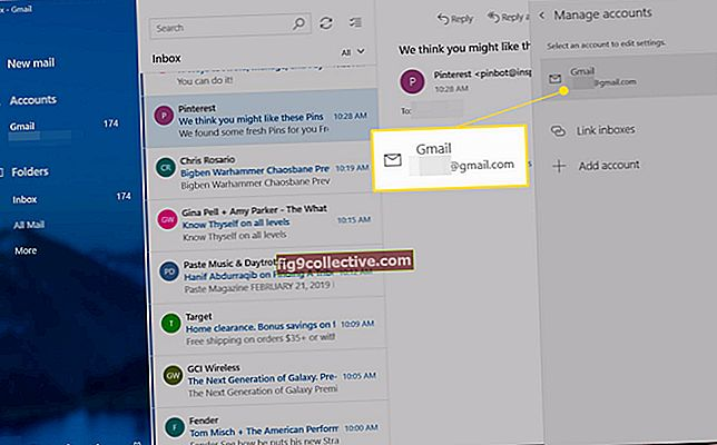 Come eliminare un account in Outlook 13
